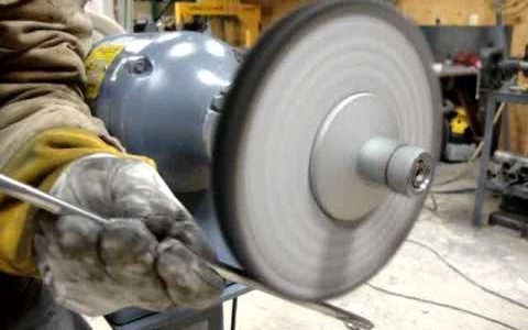 What does grinding mean and why is it needed before surface treatment?