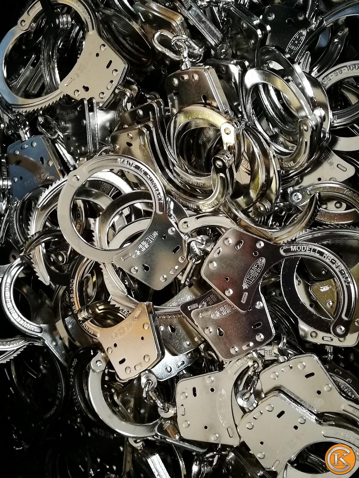 Nikkelezés galéria - Nikkelezett bilincsek