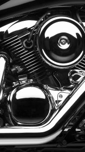 Chroming on motor